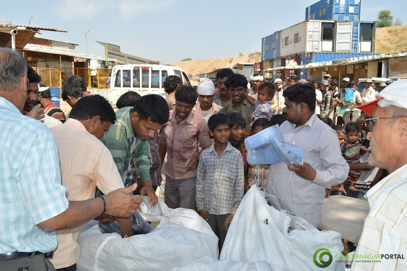 footwear-distribution-sant-sarovar-gandhinagar-vasahat-mandal-april-2014-12 Gandhinagar, Gujarat, India.