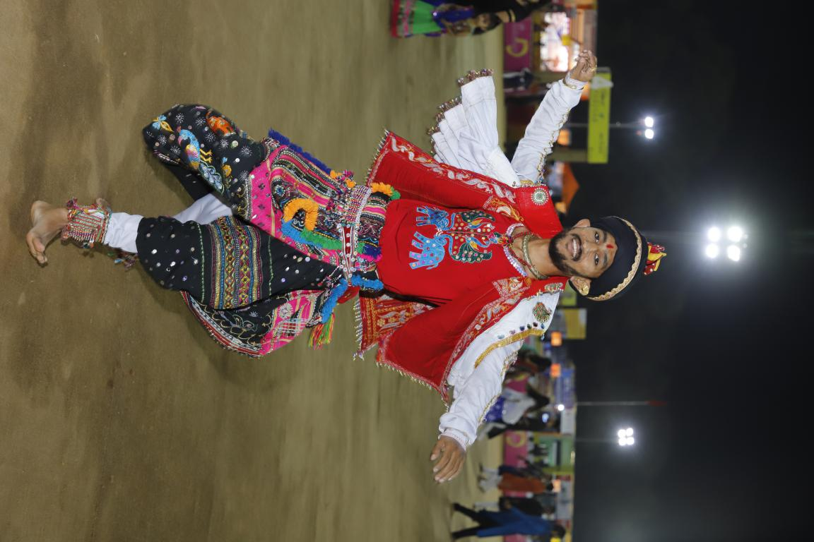 Gandhinagar Cultural Forum 2018 Day 5 (17) Gandhinagar, Gujarat, India.