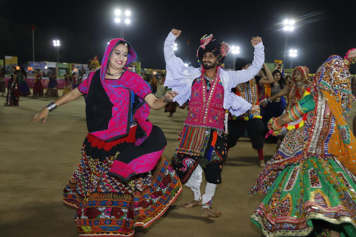 Gandhinagar Cultural Forum 2018 Day 5 (18) Gandhinagar, Gujarat, India.