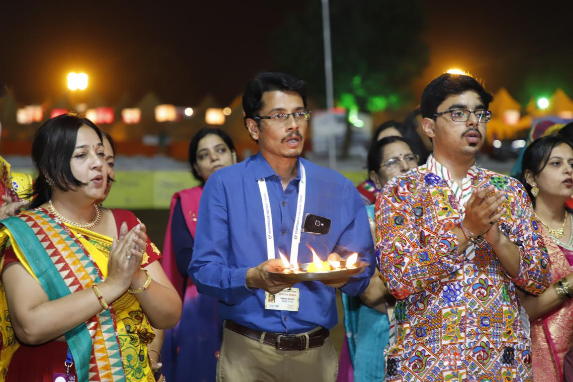 Gandhinagar Cultural Forum 2018 Day 5 (3) Gandhinagar, Gujarat, India.