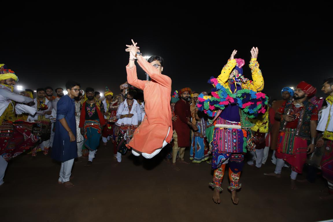 Gandhinagar Cultural Forum 2018 Day 5 (55) Gandhinagar, Gujarat, India.