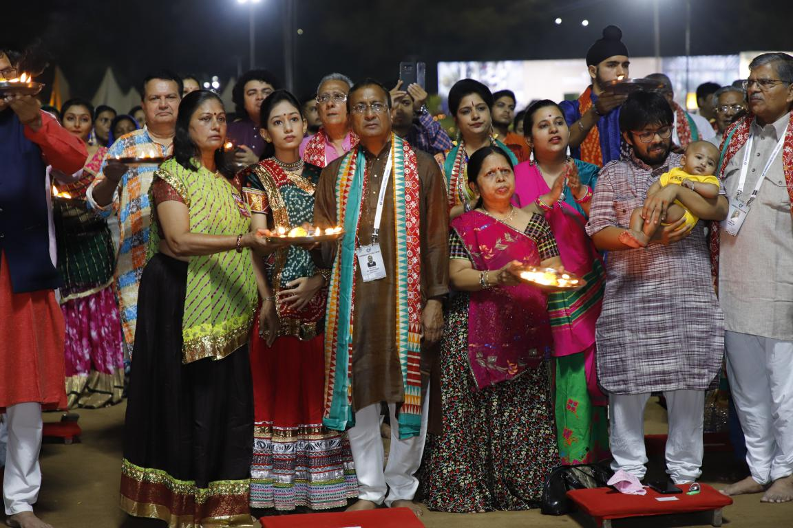 Gandhinagar Cultural Forum 2018 Day 5 (8) Gandhinagar, Gujarat, India.