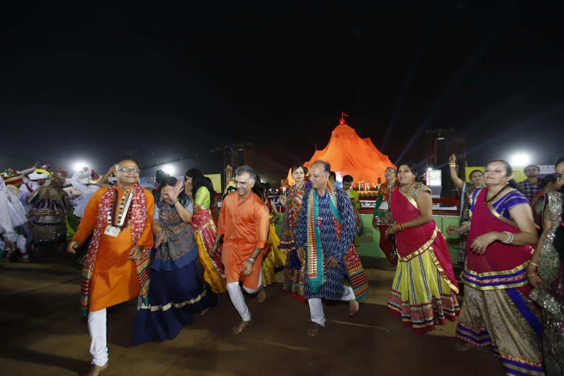 Live Gandhinagar Cultural Forum 2018 Day 3 (42) Gandhinagar, Gujarat, India.