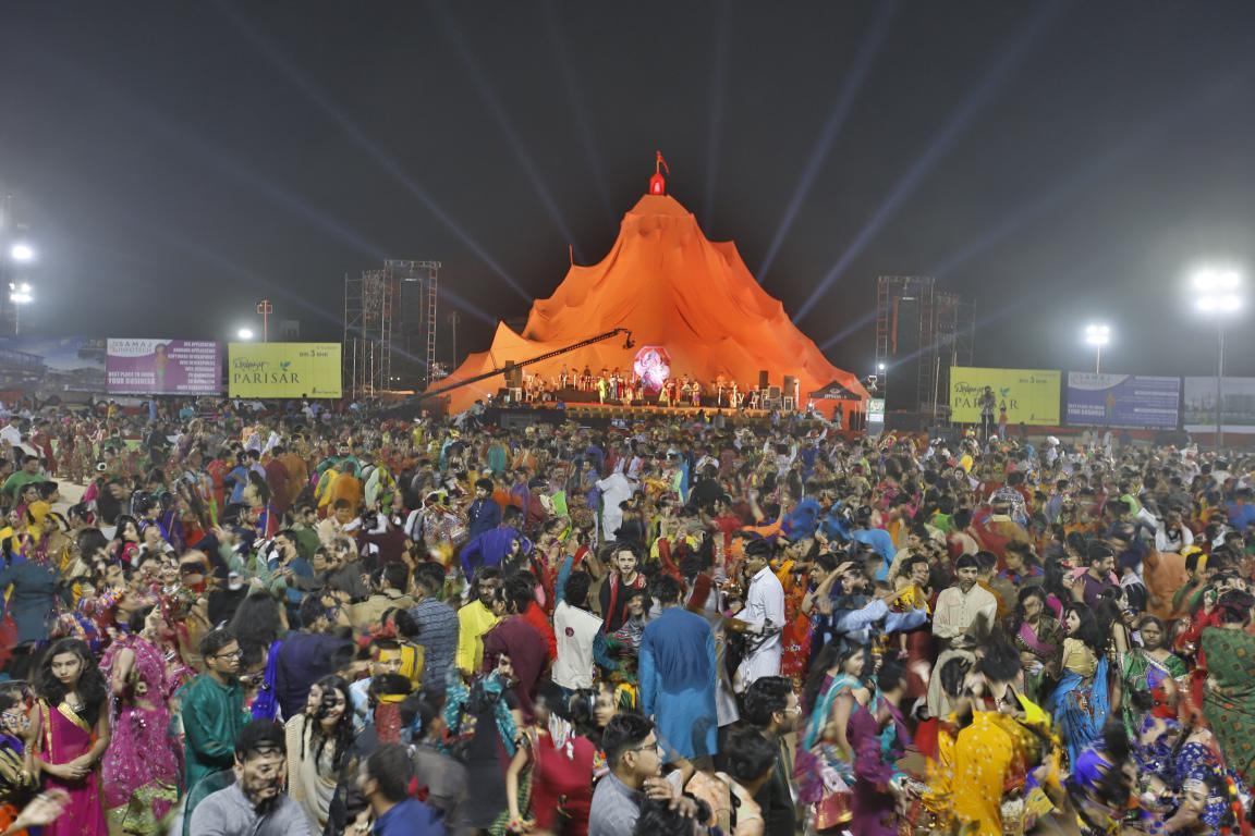 Live Gandhinagar Cultural Forum 2018 Day 3 (53) Gandhinagar, Gujarat, India.