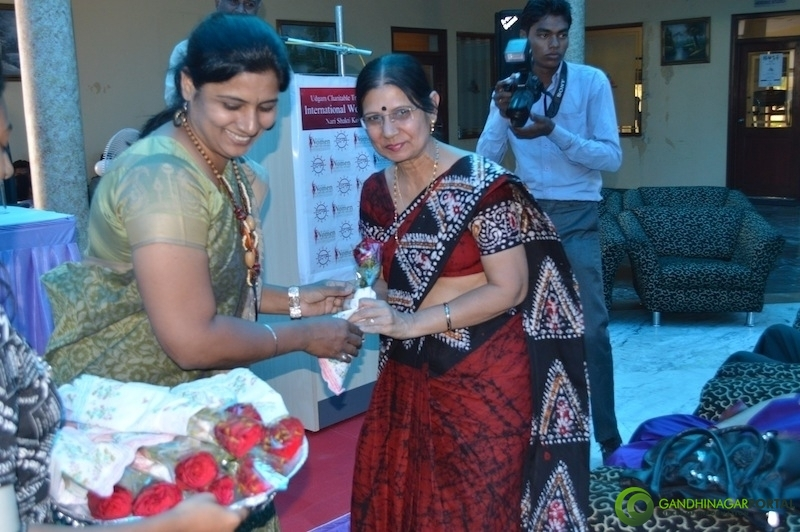 International Women's Day : Women Achievers Awards Gandhinagar, Gujarat, India.