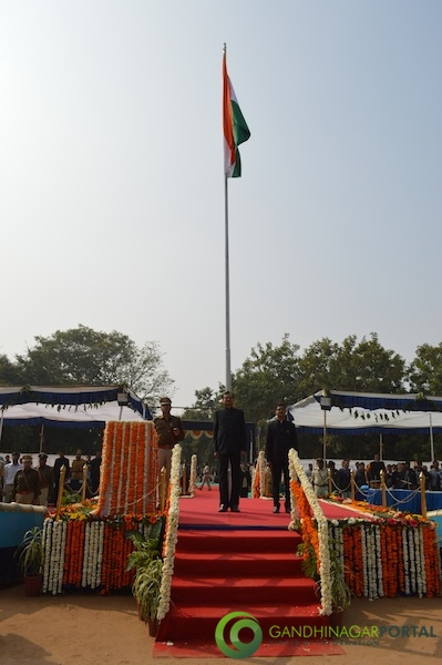 66th Republic Day - Gandhinagar 2015 Gandhinagar, Gujarat, India.