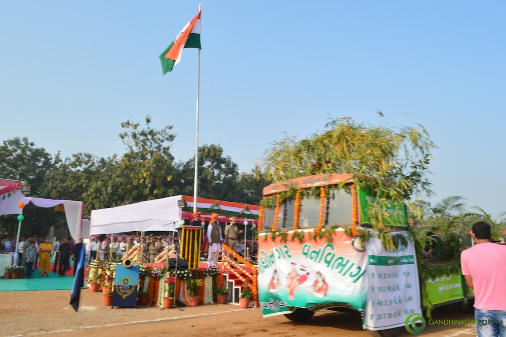 68th Republic Day of India - Gandhinagar Gandhinagar, Gujarat, India.