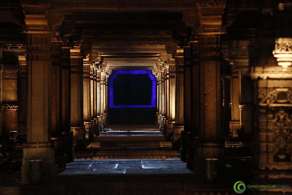 adalaj_ni_vav_night_view_gandhinagar (18) Gandhinagar, Gujarat, India.