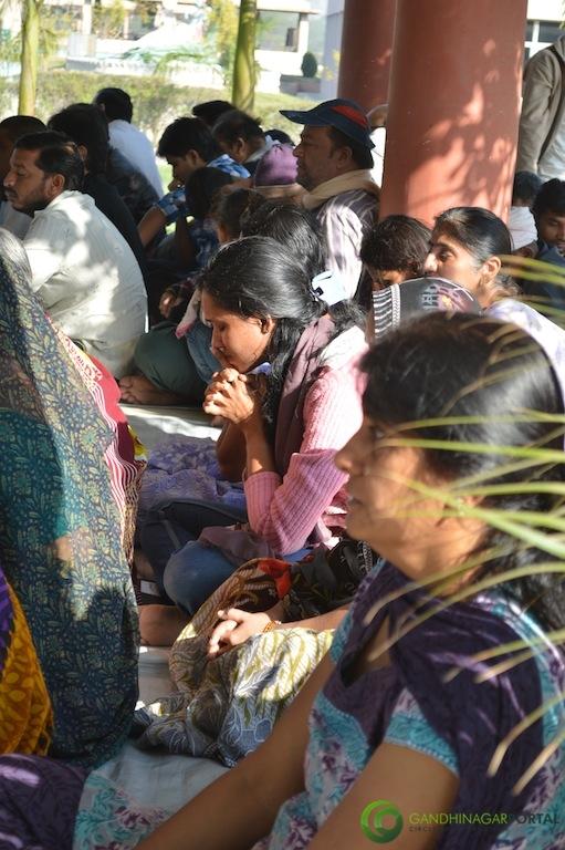 Asthi Visarjan Prarthana Sabha, Gandhinagar Mukti Dham Gandhinagar, Gujarat, India.