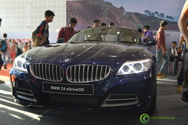 BMW z4 at CII Autoshow 2014, Gandhinagar Gandhinagar, Gujarat, India.