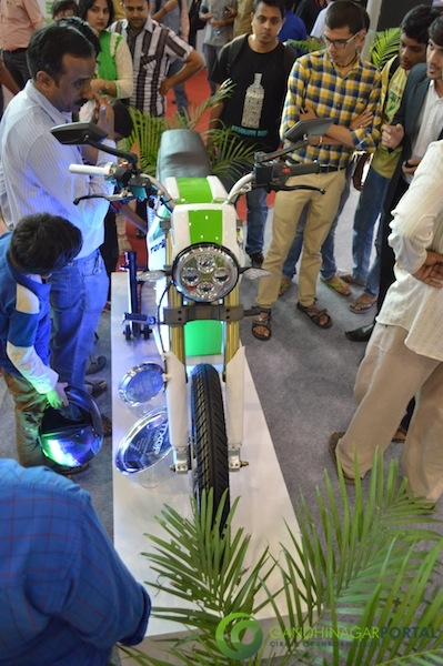Electric Bike, CII Autoshow 2014, Gandhinagar Gandhinagar, Gujarat, India.