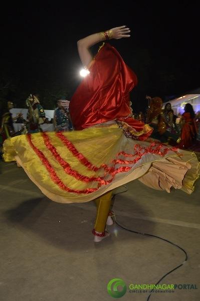 Cultural Forum - Navali Navratri 2013 Day 9 Gandhinagar, Gujarat, India.
