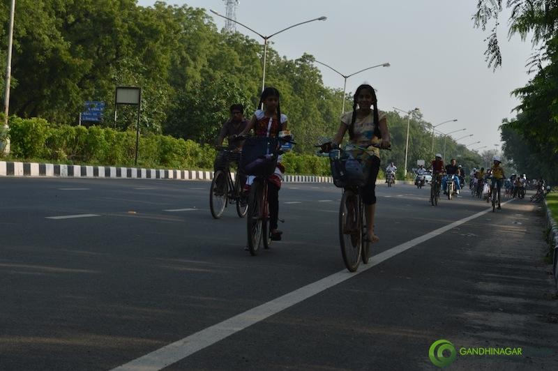 Cycle Mahayatra 2013 - Gandhinagar Gandhinagar, Gujarat, India.