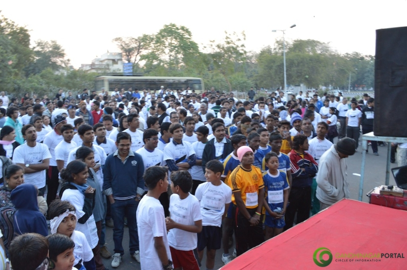 gandhinagar-daiict-youth-run-2013-07 Gandhinagar, Gujarat, India.