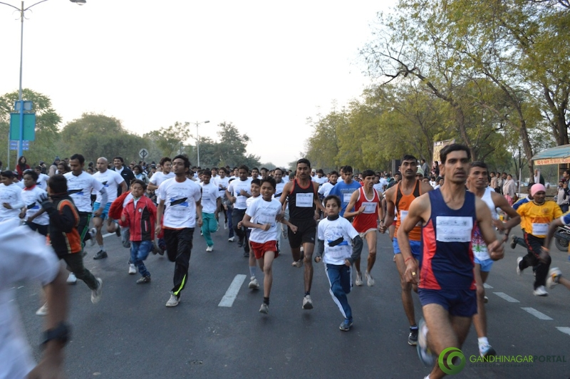 gandhinagar-daiict-youth-run-2013-11 Gandhinagar, Gujarat, India.