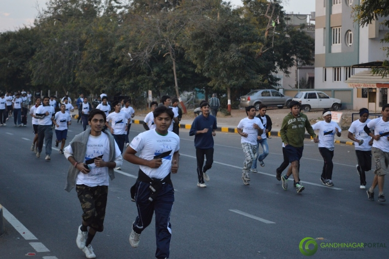 gandhinagar-daiict-youth-run-2013-16 Gandhinagar, Gujarat, India.