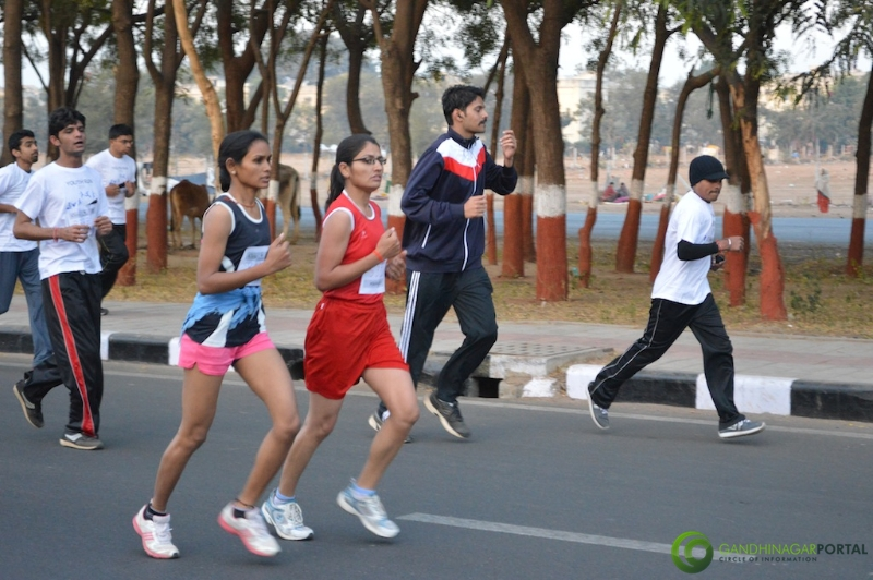gandhinagar-daiict-youth-run-2013-20 Gandhinagar, Gujarat, India.