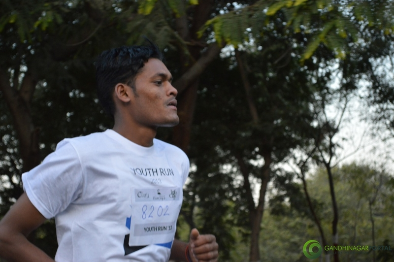 gandhinagar-daiict-youth-run-2013-23 Gandhinagar, Gujarat, India.