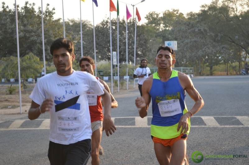 gandhinagar-daiict-youth-run-2013-29 Gandhinagar, Gujarat, India.