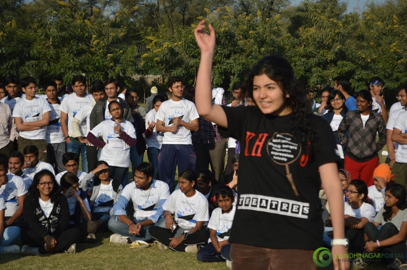 gandhinagar-daiict-youth-run-2013-37 Gandhinagar, Gujarat, India.