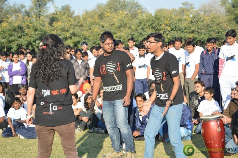 gandhinagar-daiict-youth-run-2013-39 Gandhinagar, Gujarat, India.