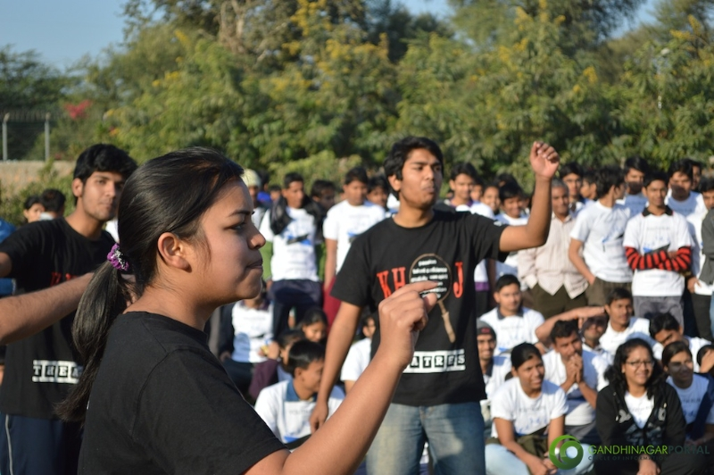 gandhinagar-daiict-youth-run-2013-40 Gandhinagar, Gujarat, India.