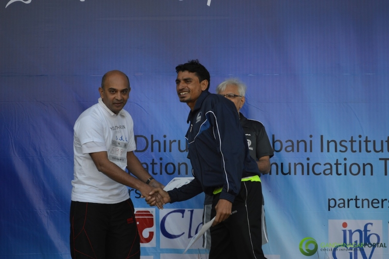 gandhinagar-daiict-youth-run-2013-55 Gandhinagar, Gujarat, India.