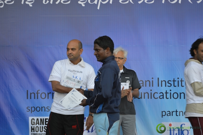 gandhinagar-daiict-youth-run-2013-57 Gandhinagar, Gujarat, India.