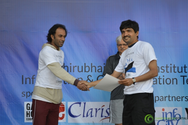 gandhinagar-daiict-youth-run-2013-62 Gandhinagar, Gujarat, India.