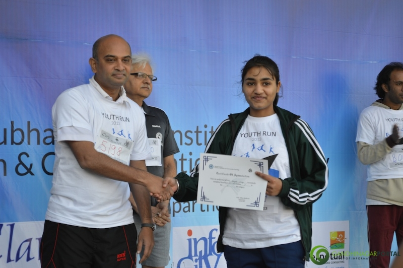 gandhinagar-daiict-youth-run-2013-64 Gandhinagar, Gujarat, India.