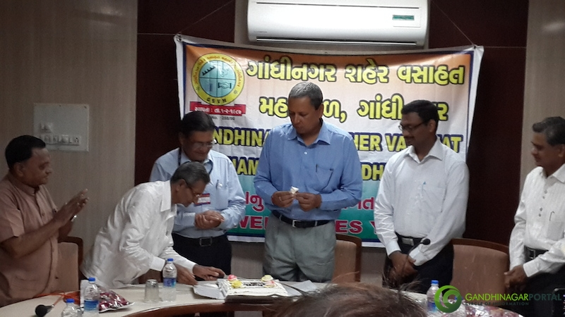 Gandhinagar 49th Birthday Celebration by Gandhinagar Shaher Vasahat Mahamandal @ GEB Colony Gandhinagar, Gujarat, India.