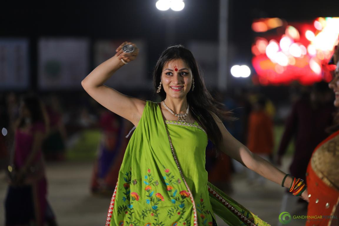 Live Images of Gandhinagar Culture Forum Navratri 2019 Day 5