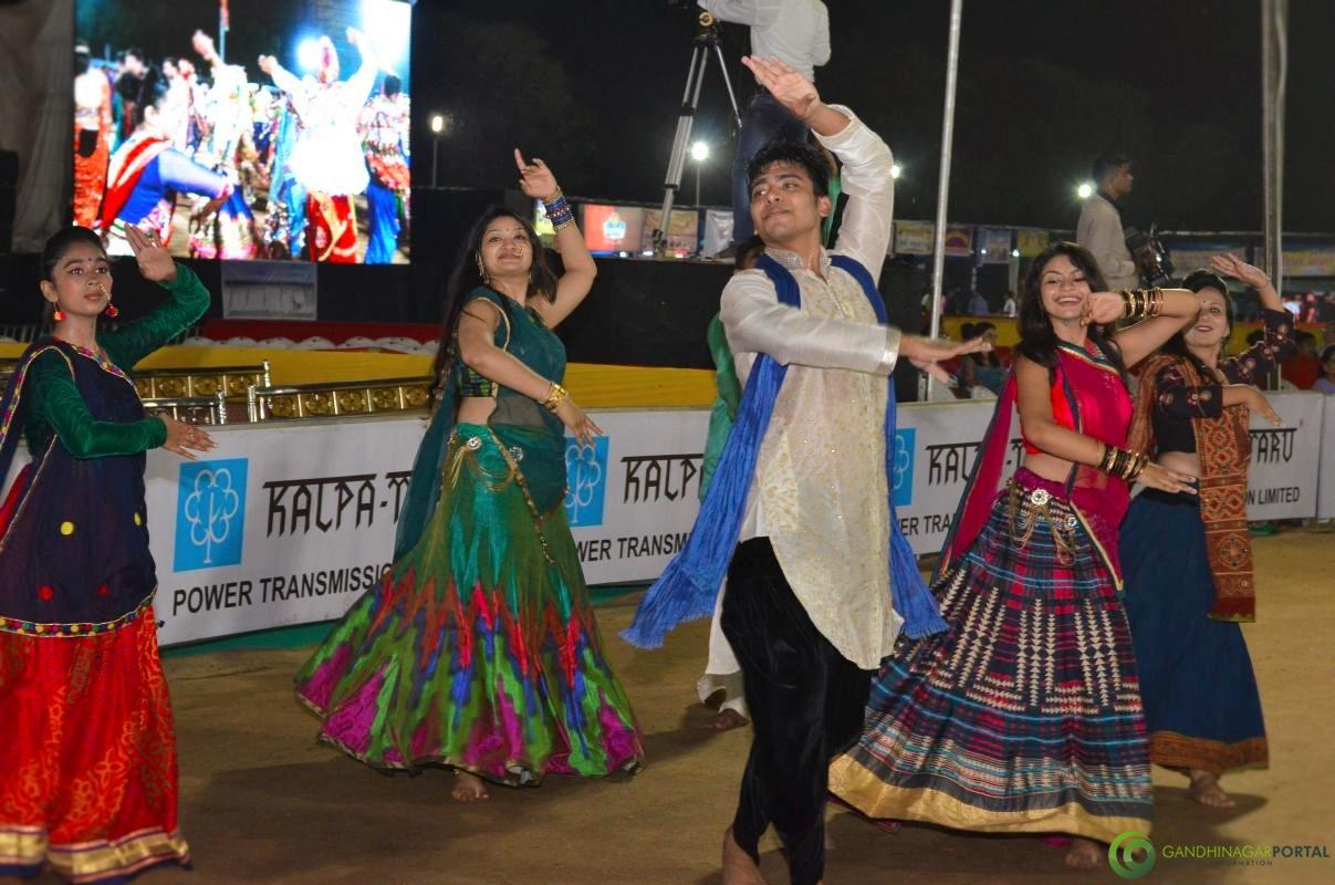 Gandhinagar Cultural Forum GCF Navli Navratri Day 2 Gandhinagar, Gujarat, India.