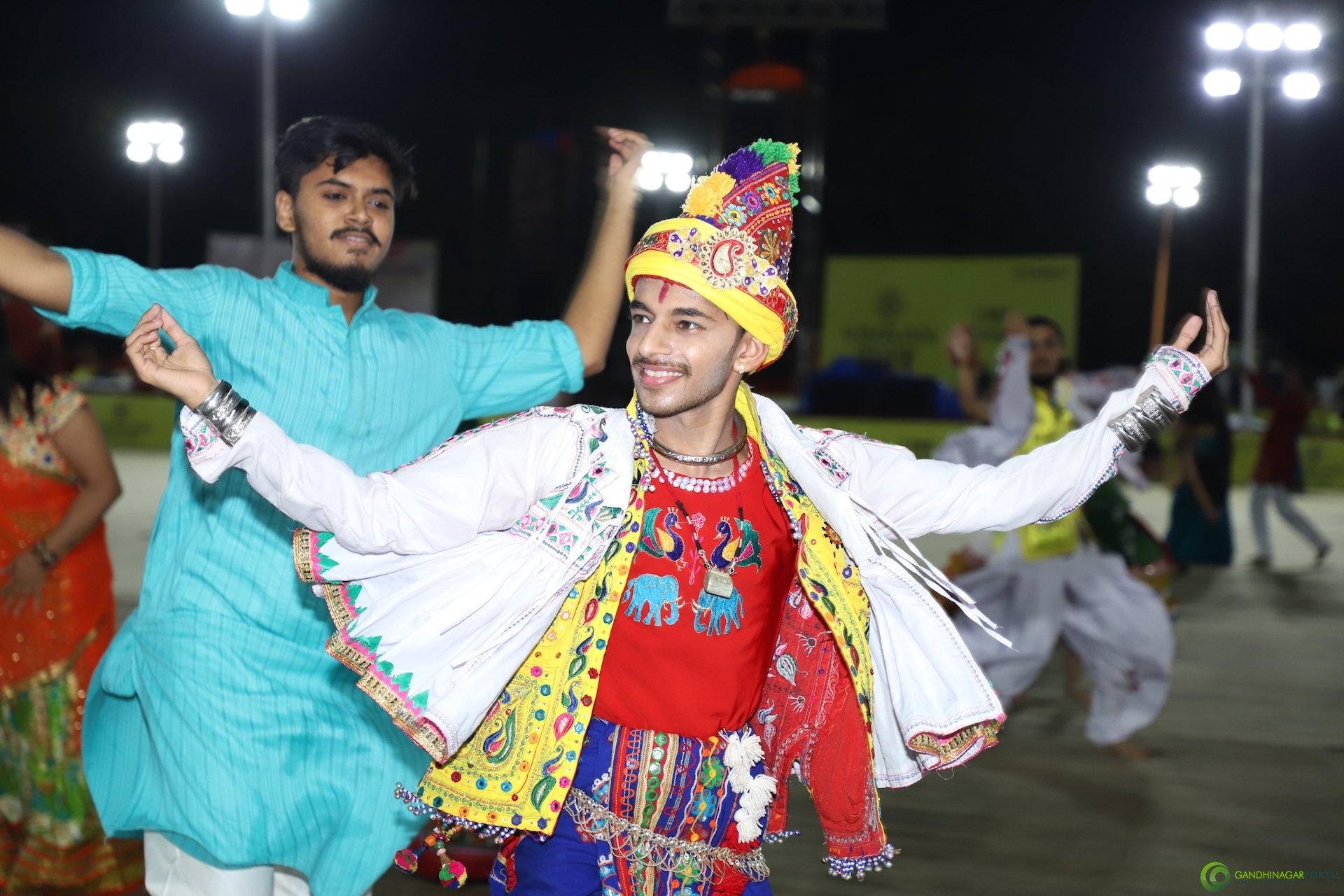 Live Images of Gandhinagar Culture Forum Navratri 2019 Day 1 Gandhinagar, Gujarat, India.