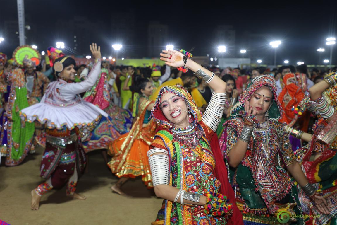 gandhinagar-cultural-forum-navratri-2019-day-6-60 Gandhinagar, Gujarat, India.