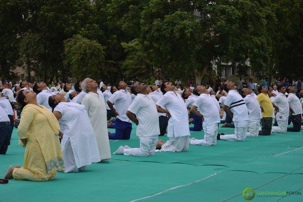 International Yoga Day 2015 - Gandhinagar