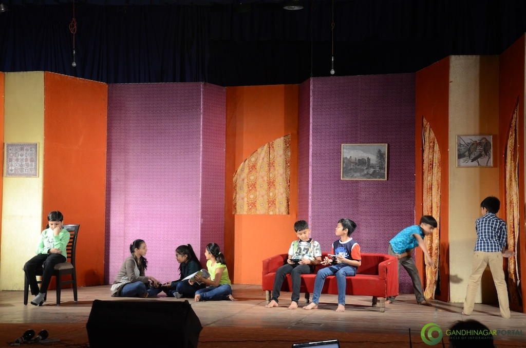 Cultural School of Acting Gandhinagar, Gujarat, India.