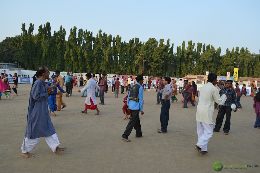 Garba For Special People at Gandhinagar Cultural Gandhinagar, Gujarat, India.