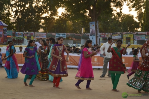 Garba For Special People at Gandhinagar Cultural