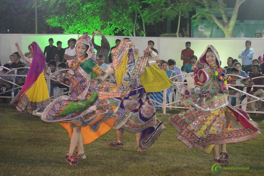 Garba Night 2016 Gandhinagar, Gujarat, India.