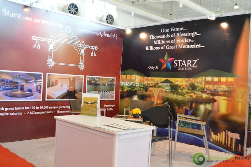 STARZ Club and SPA @ Gujarat Travel Mart 2013 @ Gandhinagar, Mahatma Mandir Gandhinagar, Gujarat, India.