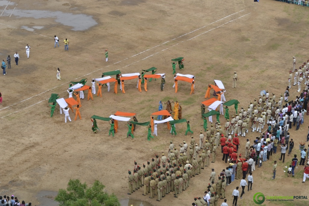 Independence Day 2013 : Gandhinagar Gandhinagar, Gujarat, India.