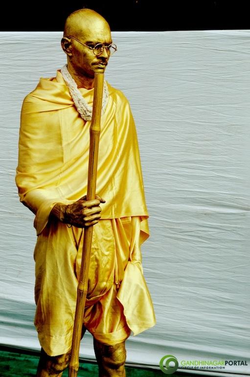 Gandhi Jayanti 2nd Oct 2013 : Kala Gurjari - Gandhinagar Gandhinagar, Gujarat, India.