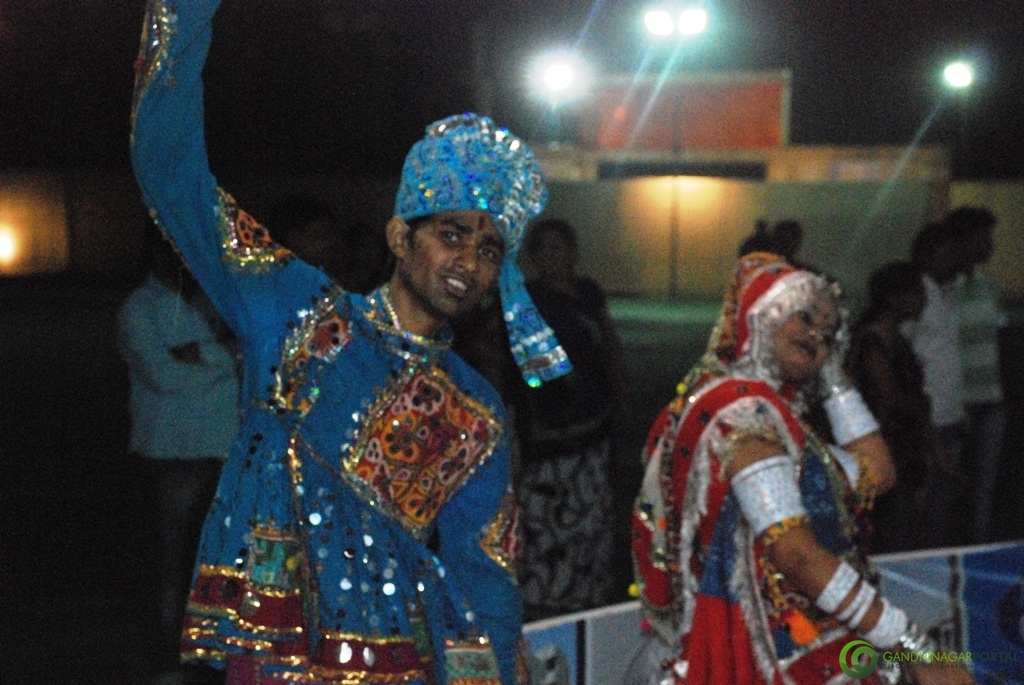 Lions Club of Gandhinagar Naurta 2012- Crazy Beats Group, Day 4, Gandhinagar Navratri Mahotsav, Gandhinagar Garba Gandhinagar, Gujarat, India.