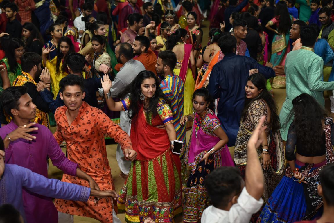 gandhinagar-cultural-forum-navratri-2019-day-7-106 Gandhinagar, Gujarat, India.