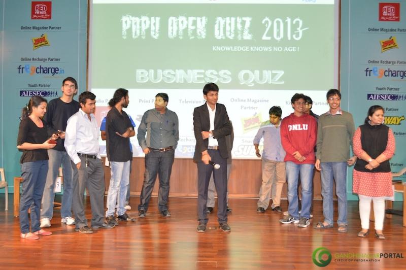 gandhinagar-pdpu-open-quiz-2013-portal-33 Gandhinagar, Gujarat, India.