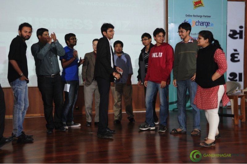 pdpu-open-quiz-gandhinagar-2013-day-1-2 Gandhinagar, Gujarat, India.