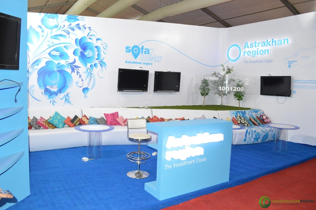Astrakhan Region-So Far So Near @ Vibrant Gujarat Global Trade Show Gandhinagar 2013, 8th January 2013@ Exhibition Ground Gandhinagar Gandhinagar, Gujarat, India.
