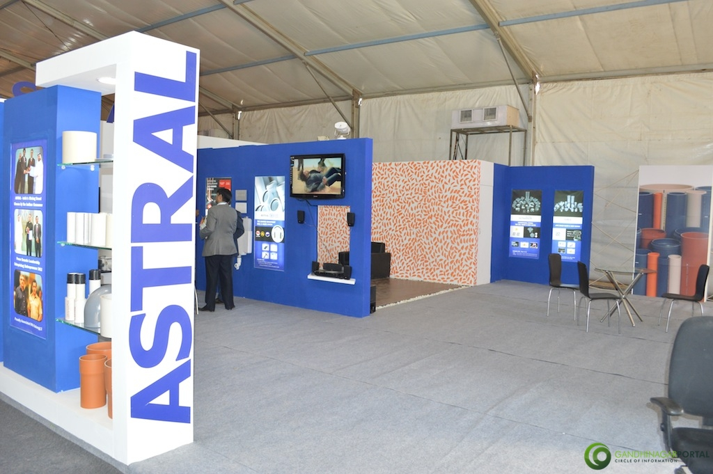 Astral Pipes @Vibrant Gujarat Global Trade Show Gandhinagar 2013, 8th January 2013@ Exhibition Ground Gandhinagar Gandhinagar, Gujarat, India.