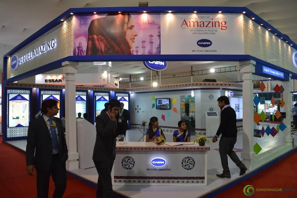 CAIRN- Energy of India @ Vibrant Gujarat Global Trade Show Gandhinagar 2013, 8th January 2013@ Exhibition Ground Gandhinagar